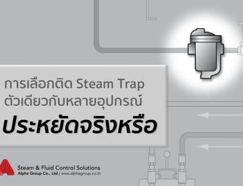 การเลือกติด Steam Trap ตัวเดียวกับหลายอุปกรณ์ประหยัดจริงหรือ