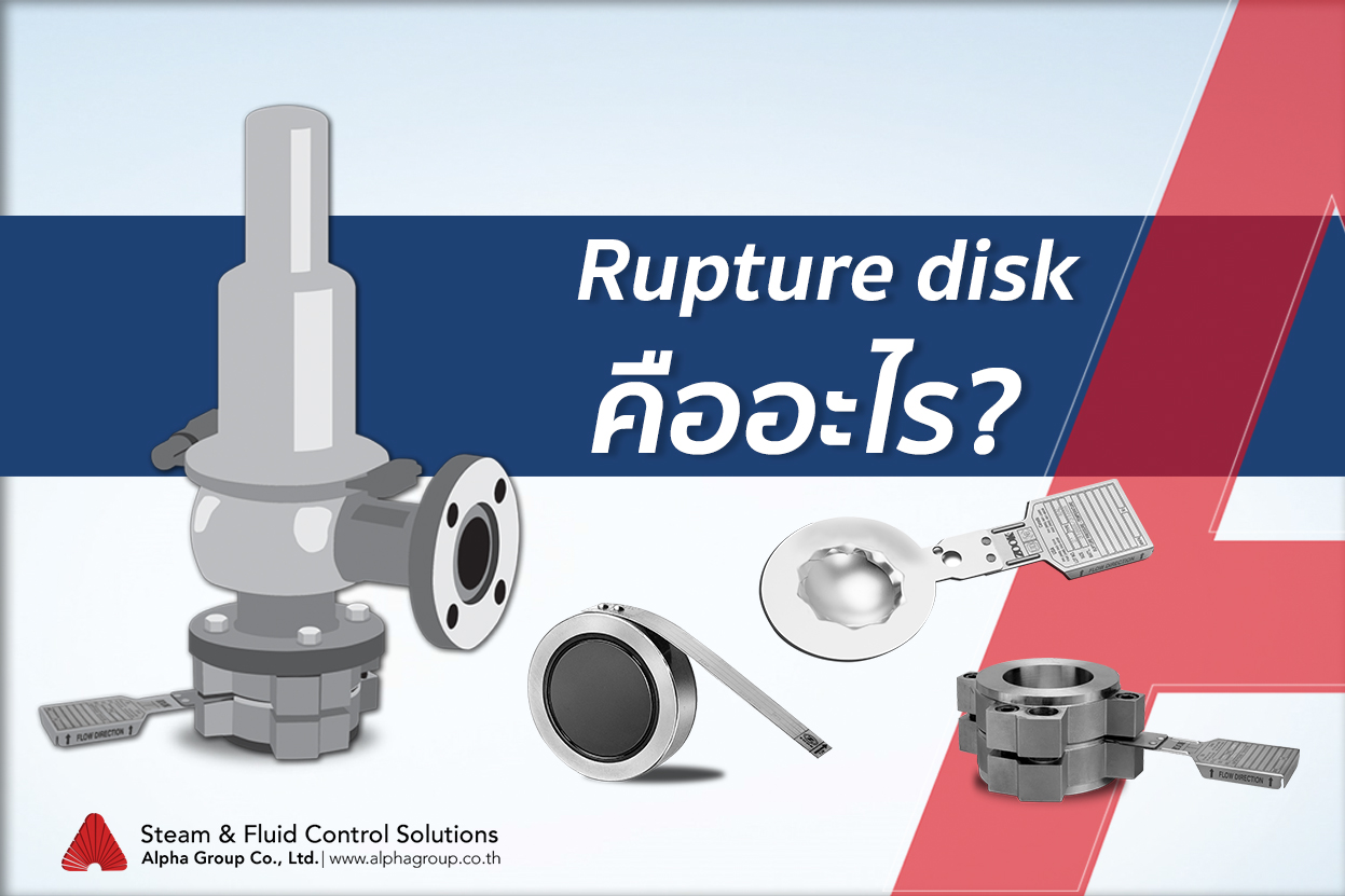 Rupture disk คืออะไร